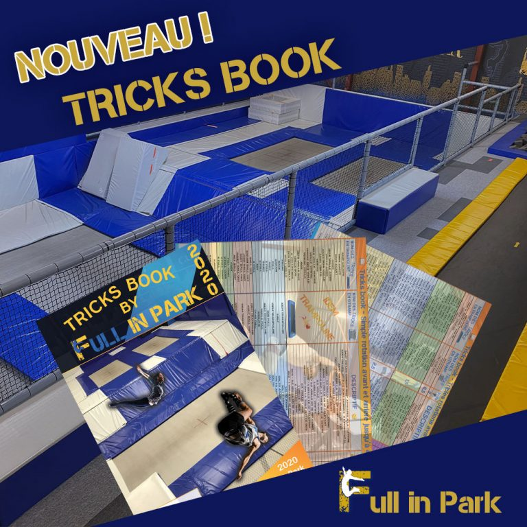 Nouveau Tricks book, livret de figures théoriques en trrampoline